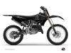 Yamaha 125 YZ Dirt Bike Zombies Dark Graphic Kit Black