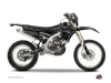 Yamaha 250 WRF Dirt Bike Zombies Dark Graphic Kit Black
