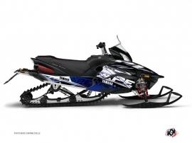 Kit Déco Motoneige Mission Yamaha Apex Bleu