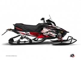 Kit Déco Motoneige Mission Yamaha Apex Rouge