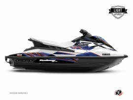 Kit Déco Jet-Ski Mission Yamaha EX Blanc Bleu LIGHT