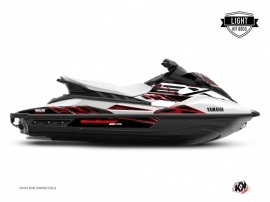 Kit Déco Jet-Ski Mission Yamaha EX Blanc Rouge LIGHT