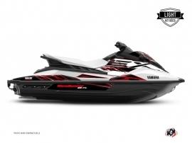 Kit Déco Jet-Ski MISSION Yamaha EX Blanc Rouge LIGHT