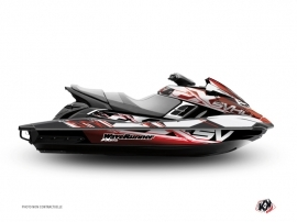 Kit Déco Jet Ski Mission Yamaha FX Rouge