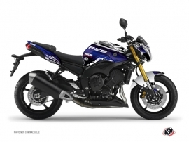 Kit Déco Moto Mission Yamaha FZ 8 Bleu