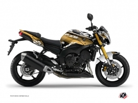 Yamaha FZ 8 Street Bike Mission Graphic Kit Brown
