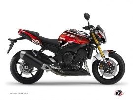 Kit Déco Moto Mission Yamaha FZ 8 Rouge