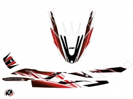 Yamaha FZR-FZS Jet-Ski Mission Graphic Kit Red