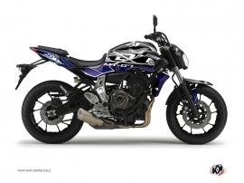 Kit Déco Moto Mission Yamaha MT 07 Bleu