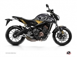 Kit Déco Moto Mission Yamaha MT 09 Marron