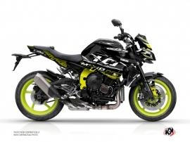 Kit Déco Moto Mission Yamaha MT 10 Jaune