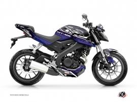 Kit Déco Moto Mission Yamaha MT 125 Bleu