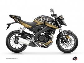 Kit Déco Moto Mission Yamaha MT 125 Marron