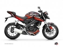 Kit Déco Moto Mission Yamaha MT 125 Rouge
