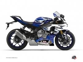 Kit Déco Moto Mission Yamaha R1 Bleu