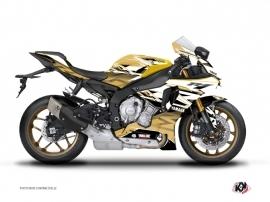 Kit Déco Moto Mission Yamaha R1 Marron