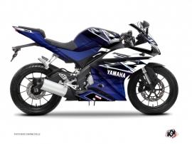 Kit Déco Moto Mission Yamaha R125 Bleu
