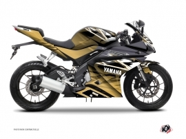 Kit Déco Moto Mission Yamaha R125 Marron