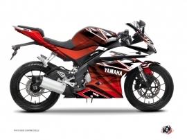 Kit Déco Moto Mission Yamaha R125 Rouge