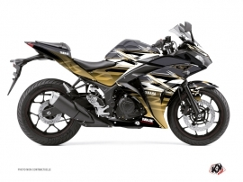 Kit Déco Moto Mission Yamaha R3 Marron