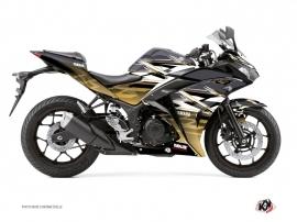 Kit Déco Moto Mission Yamaha R3 Marron