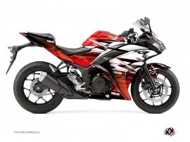 Kit Déco Moto Mission Yamaha R3 Rouge