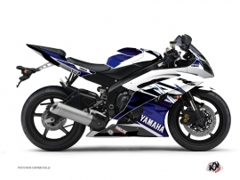 Kit Déco Moto Mission Yamaha R6 Bleu