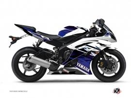 Yamaha R6 Street Bike Mission Graphic Kit Blue