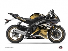 Kit Déco Moto Mission Yamaha R6 Marron