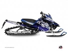 Kit Déco Motoneige Mission Yamaha SR Viper Bleu