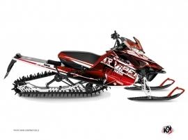 Kit Déco Motoneige Mission Yamaha SR Viper Rouge