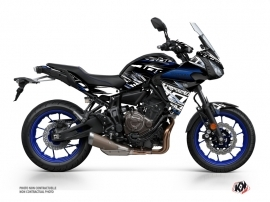 Yamaha TRACER 700 Street Bike Mission Graphic Kit Black Blue