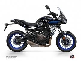 Kit Déco Moto Mission Yamaha TRACER 700 Noir Bleu
