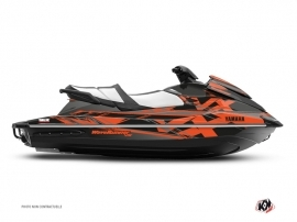 Kit Déco Jet-Ski MISSION Yamaha VX Noir Orange