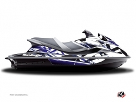 Yamaha VXR-VXS Jet-Ski Mission Graphic Kit Blue