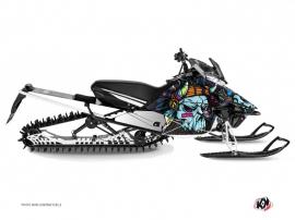 Kit Déco Motoneige Nativ Yamaha SR Viper Bleu