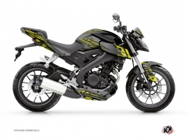 Kit Déco Moto Night Yamaha MT 125 Noir Jaune