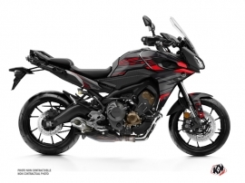 Kit Déco Moto Night Yamaha TRACER 900 Noir Rouge
