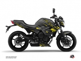 Kit Déco Moto Night Yamaha XJ6 Noir Jaune