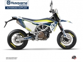 Husqvarna 701 Supermoto Dirt Bike Nova Graphic Kit Blue