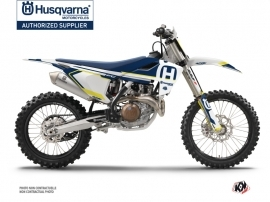 Husqvarna FC 350 Dirt Bike Nova Graphic Kit Blue