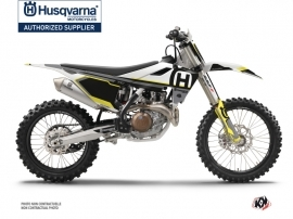 Husqvarna TC 125 Dirt Bike Nova Graphic Kit Black