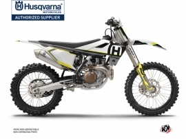 Kit Déco Moto Cross Nova Husqvarna TC 250 Noir