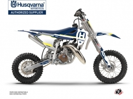 Kit Déco Moto Cross Nova Husqvarna TC 50 Bleu