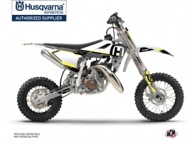 Husqvarna TC 50 Dirt Bike Nova Graphic Kit Black