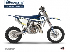 Husqvarna TC 65 Dirt Bike Nova Graphic Kit Blue