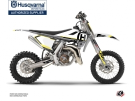 Husqvarna TC 65 Dirt Bike Nova Graphic Kit Black