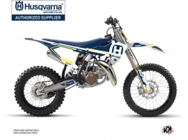 Kit Déco Moto Cross Nova Husqvarna TC 85 Bleu