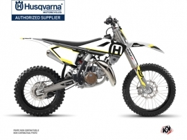 Husqvarna TC 85 Dirt Bike Nova Graphic Kit Black