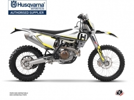 Husqvarna 125 TE Dirt Bike Nova Graphic Kit Black